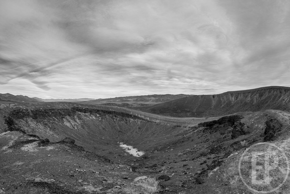Little Hebe Crater, Death Valley