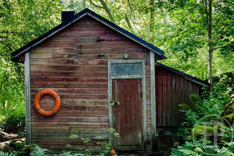 Erlandson Photography: Finland -- Abandoned Boathouse, Vallisaari, Helsinki, Finland