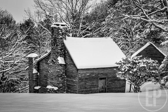 Erlandson Photography: Appalachian Spirit -- Brinegar Cabin