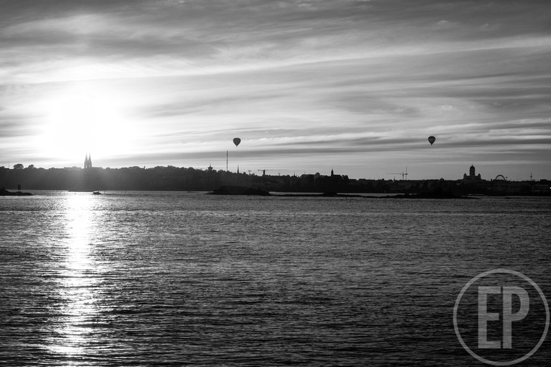 Erlandson Photography: Finland &emdash; Sunset Balloon Flight Over Helsinki